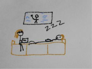 couchsleeping