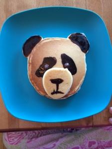 panda pancakes