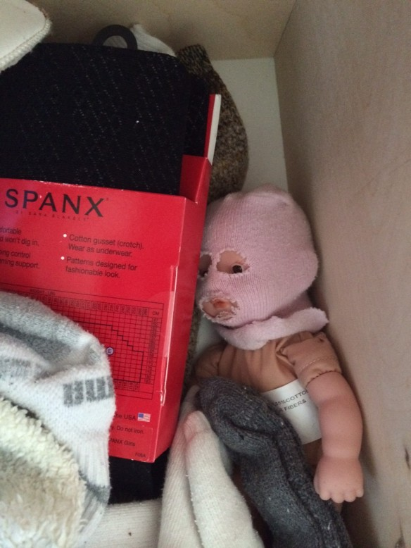 Spanx are so cuddly.